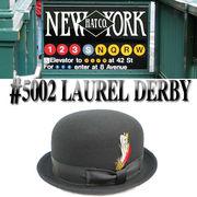★秋冬♪NEWYORK HAT #5002 LAUREL DERBY 15145