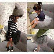韓国風★新しいスタイル★キッズ女の子スカート★