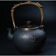 鉄器 急須 伝統工芸 手作り 鉄分補給 鉄瓶 SY-008