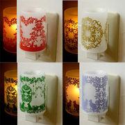プラスチィック アロマ コンセント ランプ murooka akiko ◆室内照明/アロマランプ