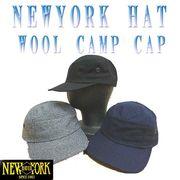 NEWYORK HAT #9383 WOOL CAMP CAP 12735
