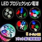ステージライト LS-46 プロジェクション電球 ミラーボール カラーボール LED エフェクト