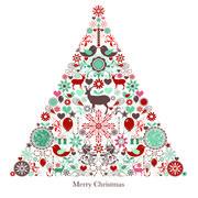 Maki  ペーパーナプキン クリスマス ツリー