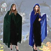ハロウィン衣装 レディース コスチューム ハロウィーン仮装女の子魔女のマントコスプレ