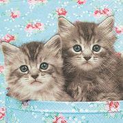 Paper+Design ミニペーパーナプキン 猫 CAT