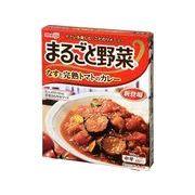 【代引不可】meiji 明治 まるごと野菜 なす完熟トマトカレー 190g x10