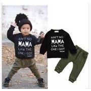 ★韓国スタイル★ベビー・新生児服★赤ちゃんファッション2点セット★スウェット+ズボン