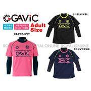 【ガビック】 GA8007 プラクティスシャツ&インナーセット(大ロゴ) 全3色 メンズ&レディース