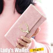 【ピンク他全5色】レディース財布 長財布 レディース 長財布 婦人財布