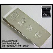 ◆英アソート対象商品◆Douglas Pell社 007ジェームスボンド スターリングシルバーマネークリップ