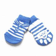 ドロップシッピングOK★ドッグウェア  セーラーソックス(犬用靴下)