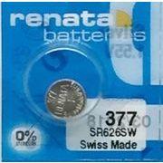 RENATA 377 SR626SW 0%Mercury