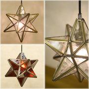 ★【 StarGlass Pendant Lamp 】★ヨーロッパステンド風★ペンダントランプ スターグラス ♪