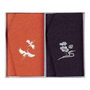 (テキスタイル)(ふくさ)かのこ織刺繍入金封ふくさセット NO781