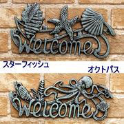 ★【Cast Iron WELCOME SIGN】★キャストアイアン ウエルカムサイン♪
