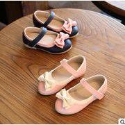 【子供靴】★可愛いデザインの子供靴&★ぺたんこ 暖かい★子供皮靴★2色Xサイズ21-30