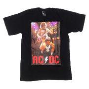 アンカスヤング Tシャツ 半袖 黒 M マルコム AC/DC ロック