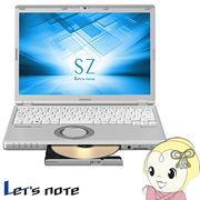 CF-SZ6JD3QR パナソニック Let's note SZシリーズ 12.1型ノートパソコン
