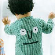 ★夏新しいスタイル★キッズTシャツ ブラウス 長袖 2色有り
