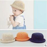 夏新型★韓国風★キッズ麦わら帽子★日除け帽★8色選べる