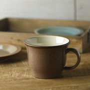 ボードー 13.5cmマグカップ/スープカップ アースブラウン[美濃焼]