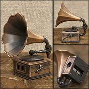 アンティークシャープナー 鉛筆けずり ♪ レトロ  蓄音器♪