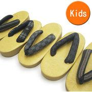 子供 表畳風雪駄(17~21cm) 鼻緒の色柄おまかせ キッズ 草履