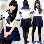 ■送料無料■目白研心高等学校(旧目白学園) 夏服 サイズ:M/BIG