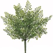 asca 造花 メイデンヘヤーファーンブッシュ グリーン 全長38cm・葉径1~2cm