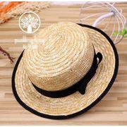 同梱でお買得★夏季新作 ■子供用★麦わら帽子★ファション★シンプルなデザイン 全2色