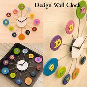 【壁掛時計】デザインウォールクロック【ポップ】
