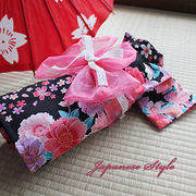 日本製 セレブスタイル 高品質ペットウェア 犬服 犬用浴衣ラメ入り桜 XS/SM/MD-M/L