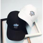 ★2017新作★帽子 カジュアル キャップ  刺繍入りベースボールキャップ 2色