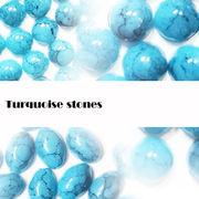 品質UP【高品質】ターコイズ風ストーン【大容量】 フェイク 石 天然石
