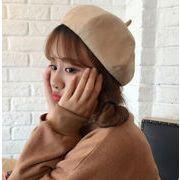 ★新作★ ベレー帽 帽子 レザー カボチャ  11色