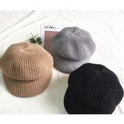 人気商品★ニット編み帽子★★新品★帽子★帽子★キャップ★トッパー★5色