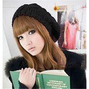 ★秋冬新作★ かわいい 帽子 レディース ニット帽  大きめサイズ