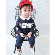 赤ちゃん 長袖 セーター 男児 韓国風 ボトムシャツ 児童 秋服 新しいデザイン 女児