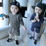 男 赤ちゃん 秋服 6 男児 赤ちゃん 長袖 セット 秋 洋服 セーター 2点セット
