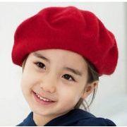 在庫処分★同梱でお買得★定番アイテム★可愛い★ベレー  帽子★子供帽子★9色