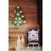 ¶クリスマスLEDツリーサインボード