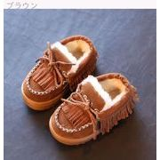 冬 新しいデザイン 児童 革靴 ピーズ靴 女児 T-ストラップ プリンセスの靴 赤ちゃん