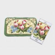 FHY1403 川島織物セルコン チュリパ グリーン