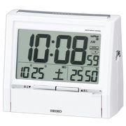 【新品取寄せ品】セイコークロック 電波目覚まし時計 DA206W