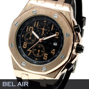 【八角形ベゼル】★グランド タペストリー 文字盤 メンズ腕時計 DD5【Bel Air collection】★