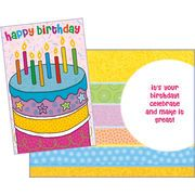 Stockwell Greetings グリーティングカード バースデー ケーキ×キャンドル