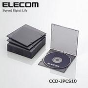 ELECOM(�G���R��) Blu-ray/DVD/CD�P�[�X�i�X����/PP/1����[�j CCD-JPCS10CBK