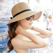 BW130512■ベストプライス保証■◆送料O円◆サンバイザー☆キャップ★麦わら帽子☆草編み
