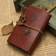 BC133608◆送料O円◆【創意文具】 アンティーク風海賊ノート 書き写し旅人ノート