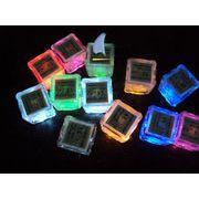 BW130216◆送料O円◆パーティーに最適・光る氷 ライトキューブ 防水 LED アイスライト◆2.5/2.7cm/*